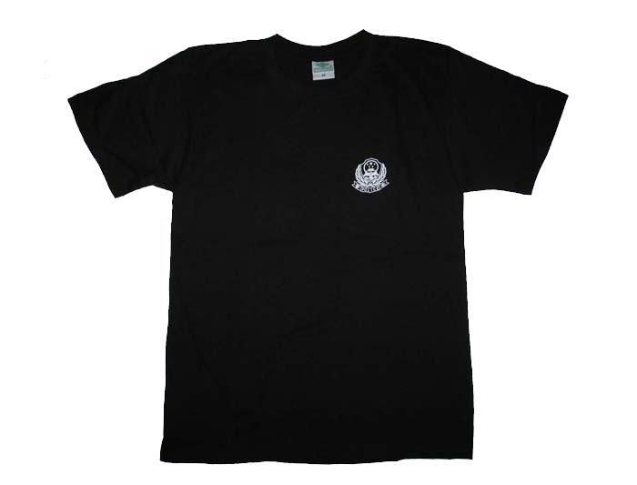 警用圆领t恤