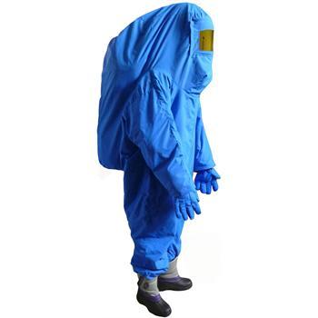 液氮防护服-带背囊