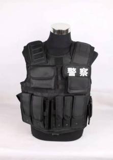 警察多功能战术背心